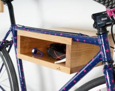 Bicycle rack Bike wall mount Bicycle shelf. Best by BikeWoodHome