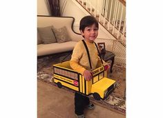 Magic School Bus inspired costume - Halloween 2014
