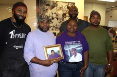 The late Edith Wideman's five children honored her memory Thursday by cooking and serving Thankgsgiving dinner to those in need