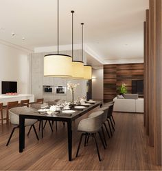 Dining Room. Столовая - Архитектурное бюро Александры Федоровой