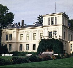Atlungstad Oslo, Villas, Norway, Beautiful Homes, Castles, Mansions, Architecture, House Styles, Arquitetura