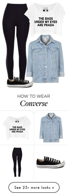 """""""Untitled #251"""" by jasmine-rlrh on Polyvore featuring moda, Topshop, Converse, women's clothing, women, female, woman, misses e juniors"""