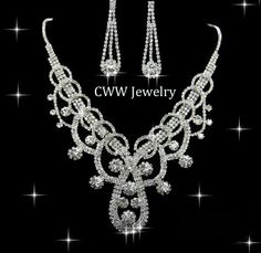 Find More Bridal Jewelry Sets Information about 2014 Wedding Accessories, Silver Plated Austrian Crystal Bead Necklace and Earrings Bridal Jewelry Set  Free shipping (S094),High Quality jewelry travel organizer case,China jewelry magnifier Suppliers, Cheap jewelry printer from China-winwin jewelry on Aliexpress.com