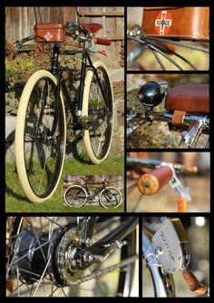 Ein Schönes Deutsches Guvnor - beautiful Pashley bicycle.