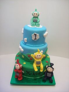 Teletubbies Cake Auckland $550 caters for 100 coffee serves.