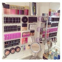 Unique Ways to Organize Beauty Products