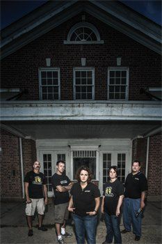 The Delaware Ghost Hunters are a paranormal investigating team who examines historic and haunted spaces.