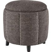 Found it at Joss & Main - Mason Storage Ottoman  In the lighter gray