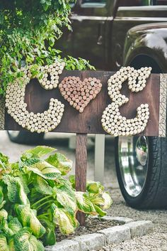 18 Ways To Use Wedding Monogram In Big Day Decor ❤ Wedding monogram is a perfect way to personalize your big day in many ways. See more: http://www.weddingforward.com/wedding-monogram/ #weddings #decoration