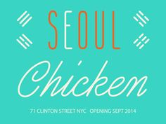 SEOUL CHICKEN NYC