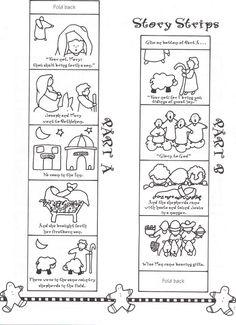 Creative Kidstuff: 12 Days of Christmas - Day Baby Jesus Christmas Bible, Christmas Games For Kids, Childrens Christmas, Christmas Nativity, 12 Days Of Christmas, Christmas Activities, A Christmas Story, Advent Activities, Christmas Ideas
