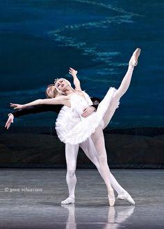 Anastasia & Denis Matvienko in Swan Lake.  (photo by Gene Schiavone)