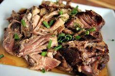 Slow Cooked Puerto Rican Pork (Pernil) More recipes @BrightNest Blog....crock pot recipes, the new cauldron.