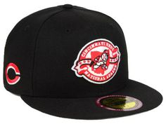 buy online b2bdc 8d596 Cincinnati Reds New Era MLB Ultimate Patch Collection Front 59FIFTY Cap