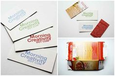 Business Cards | 31 Things You Can Make Out Of Cereal Boxes