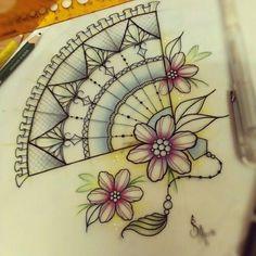 * Tattoo Drawings, Cool Drawings, Armpit Tattoo, Bottle Drawing, Fan Tattoo, Future Tattoos, Body Mods, Tattoo Designs, Tattoo Ideas