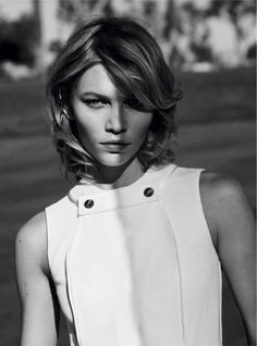 #AlineWeber by #MishaTaylor for #HarpersBazaarGermany March 2015