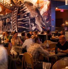 Tavern Road Boston Once a certain hour hits, most restaurants make the switch from carefully designed entrées to standard-issue flatbread pizzas. Not so at Tavern Road, where Louis DiBiccari's late-night menu sparkles with verve and inventiveness, as evidenced by delights like lamb meatballs
