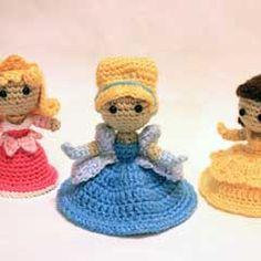 Cinderella Princess amigurumi crochet pattern by Sahrit