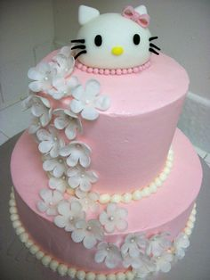 Hello Kitty Cake<3