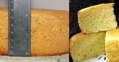 Jednoduchý trik, vďaka ktorému upečiete vždy najlepšie mäkkučké piškótové cesto na koláč, ktoré bude jemné ako obláčik! - Báječná vareška