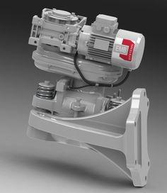 Neue elektromechanische Rotorbremse für den platzsparenden Einsatz