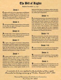 The Bill of Rights The United States Constitution, Limited Government, States' Rights and The Tenth Amendment--Videos Us History, History Facts, American History, American Pride, American Presidents, European History, Early American, Ancient History, Native American