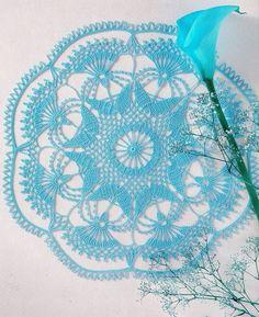 Crochet Art: Doily... ♥ Deniz ♥