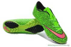 Cheap Soccer Cleats Mens Leopard Nike Mercurial Victory X TF GREEN