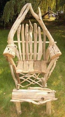4 the love of wood: CHAIRS - driftwood Absolutely stunning chairs