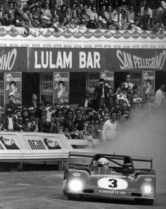 Ferrari 312 PB   Arturo Merzario - Nino Vaccarella