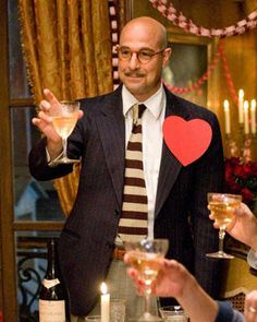 "Stanley Tucci~ ""You are the butter to my bread and the breath to my life, I love you darling girl.  Happy Valentines Day""."