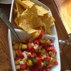 How I Met Your Mother Themed Dinner: The Pineapple Incident Salsa