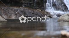 Wonderful Natural Waterfall in Cordoba Argentina Chorrillos, Canon 7D - Stock Footage   by buclefilm