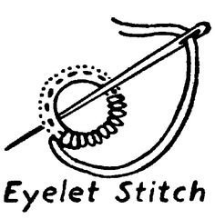 Embroidery Stitches - Circles & Curves on Pinterest 60 Pins