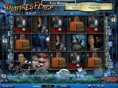 Habe jetzt Spaß bei unsere neusten online Spielautomaten Spiel Vampires Feast - http://freeslots77.com/de/vampires-feast/