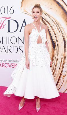 Karlie Kloss at the 2016 CFDA Fashion Awards