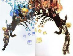 Ventus and Roxas   Kingdom Hearts