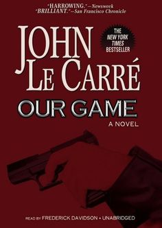 Our Game by John Le Carre' http://www.amazon.com/dp/143326210X/ref=cm_sw_r_pi_dp_mBRoub1RGCNWP Audio Book