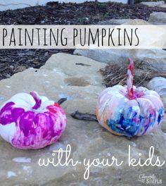 Painting Pumpkins wi