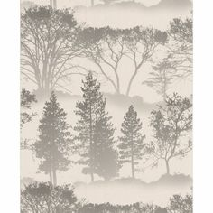 Graham and Brown Mirage Wallpaper - Grey at Homebase In spare room