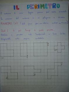 "QUADERNO+GEOMETRIA+CLASSE+IV""IL+PERIMETRO""+(5) Primary Maths, Primary School, Tangram, Math Sheets, Math Art, Math Activities, Problem Solving, Worksheets, Bullet Journal"