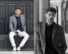Andrew Jim - H&M Blazer, Tailor4less Shirt, Zara Pant, Converse - ARABIC