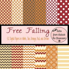This is for 52 different digital papers in All of the files are PNG so they will fit nearly any size you are creating and will work with n. Digital Paper Free, Digital Scrapbook Paper, Digital Papers, My Scrapbook, Free Paper, Scrapbook Supplies, Printable Crafts, Printable Paper, Free Printable