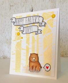 Butterfly Reflections, Ink.: a funny, fawny father's day card!