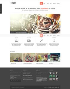 Bigbang - Responsive WordPress Template is one of the most popular themes on Themeforest... 4000 sales in 6 months! http://themeforest.net/item/bigbang-responsive-wordpress-template/2826493?ref=wpaw #wordpress #web #design #theme