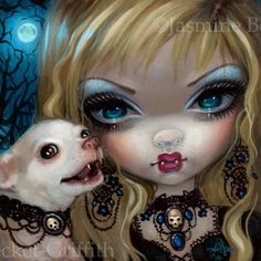 Faces of Faery #235   Art by Jasmine Becket-Griffith