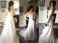 Kate Wedding Dress, Wedding Gowns, Bespoke Design, Your Style, Couture, Bride, Elegant, Unique, Fashion
