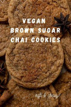 Vegan Christmas Desserts, Vegan Christmas Cookies, Cookies Vegan, Dairy Free Cookies, Christmas Baking, Christmas Holiday, Vegan Baking Recipes, Vegan Dessert Recipes, Eggless Cookie Recipes