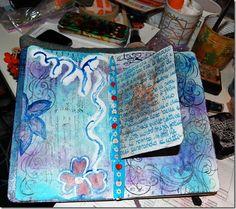 scrappin's sisters circle journal Art Journaling, Journal Ideas, Journals, Mixed Media, Sisters, Te Amo, Art Diary, Journal Art, Performing Arts